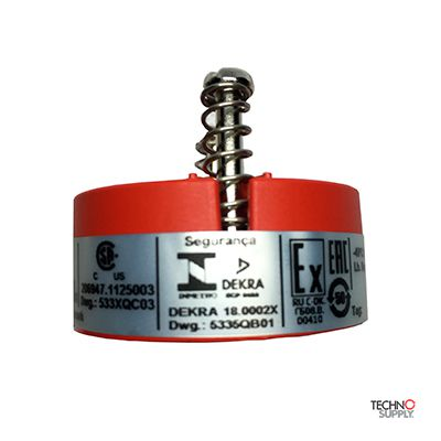 Transmissor de Temperatura Industrial Protocolo HART Programável PR Electronics 5335D EX