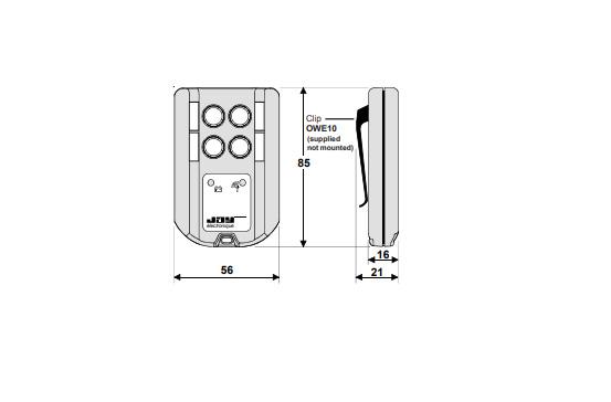 Transmissor Padrão Oret21ssl1 Jay Electronique
