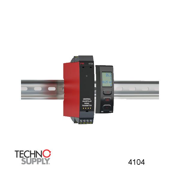 Transmissor universal de sinal uni / bipolar PR Electronics 4104