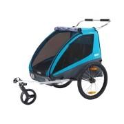 Bike Trailer p/1 ou 2 Bebês Thule Coaster XT