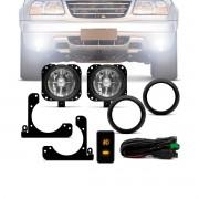 Kit Farol Milha Chevrolet Tracker Suzuki Gran Vitara - 2002 A 2008 - Farol Auxiliar