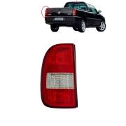 Lanterna traseira Arteb Saveiro 2003 até 2005 com neblina bicolor lado do motorista