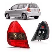 Lanterna Traseira Honda Fit Lado Esquerdo 2003 a 2008 Fumê