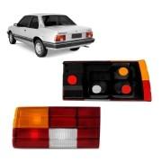 Lanterna Traseira Monza 1985 a 1987 Tricolor Lado Esquerdo