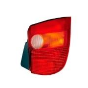 Lanterna Traseira Palio Young  1996 à 2000 - Carcaça Preta Tricolor | Lado Direito