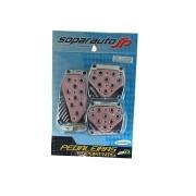 Pedaleira Cromada C/acabamento Rosa Soparauto