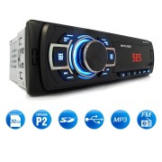 Rádio Automotivo Multilaser New One Mp3 Player 1 Din Led Usb Sd Aux Fm + Pen Drive 8gb
