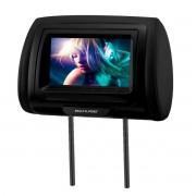 Tela Monitor 7 Com Encosto Cabeça Couro Preto Sem Leitor Multilaser