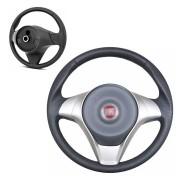 Volante Grand Siena esportivo Com Cubo e Acionador de Buzina Para Toda a Linha Fiat