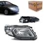 Farol Direito Chevrolet Onix 2012 a 2017 Arteb Moldura Fumê