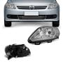 Farol Esquerdo Volkswagen Gol Voyage G5 2009 a 2012 Saveiro G5 2009 a 2013 Foco Simples