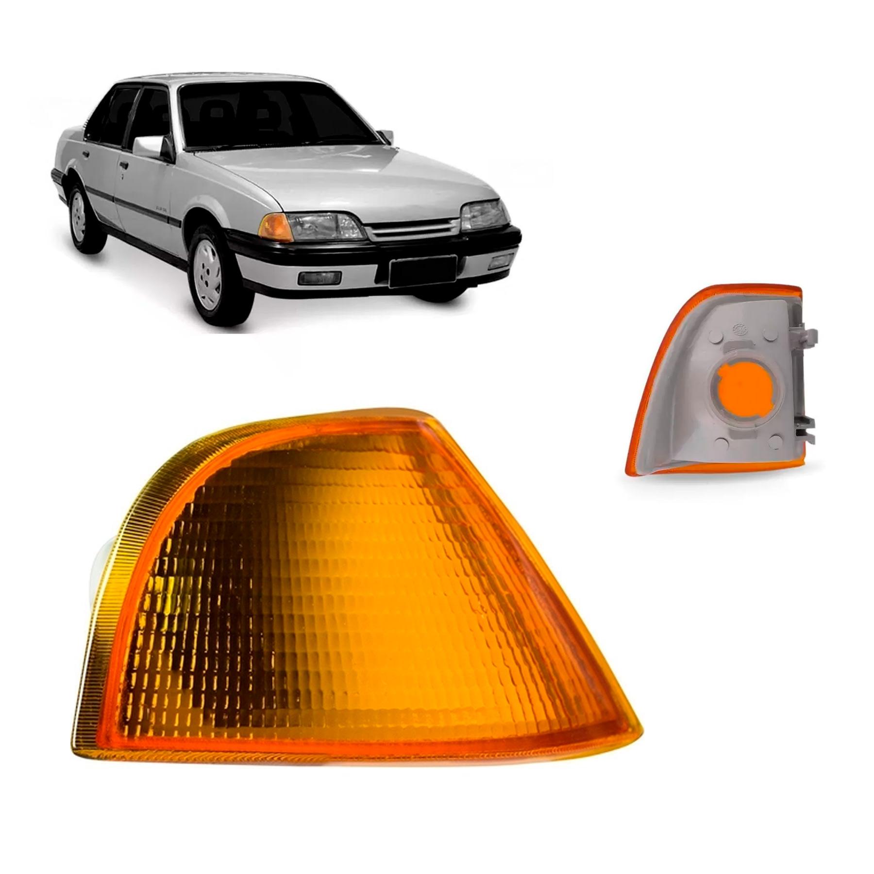 A Lanterna Dianteira Monza 1991 a 1996  Ambar Lado Direito Cibié