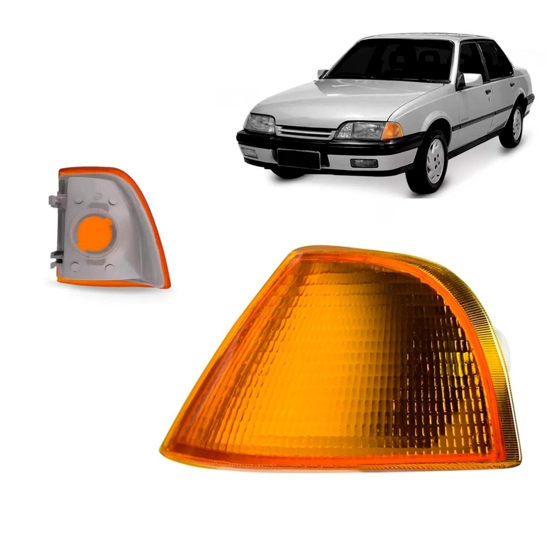A Lanterna Dianteira Monza 1991 a 1996  Ambar Lado Esquerdo Cibié