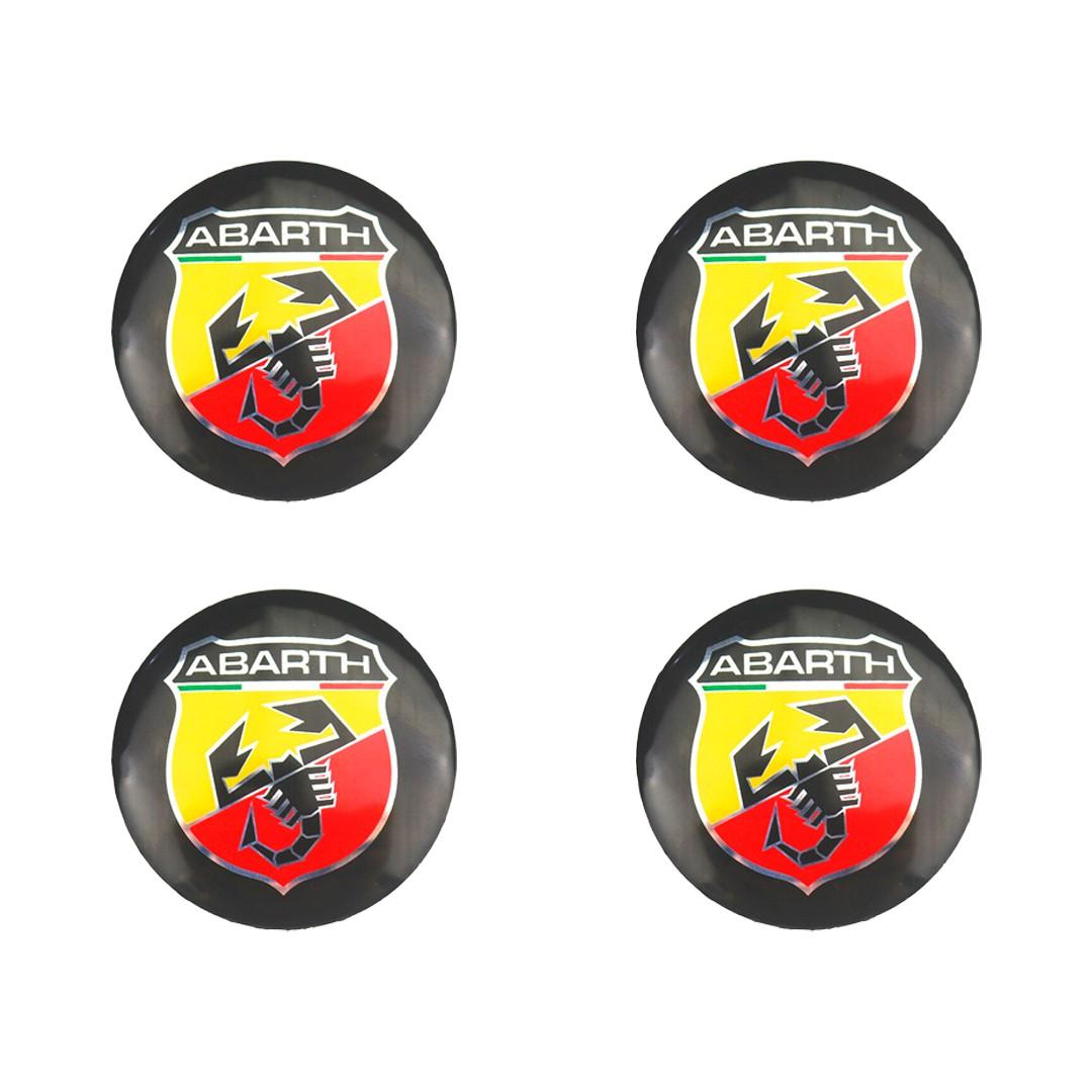 Adesivos para Calotas - Abarth | Escorpião