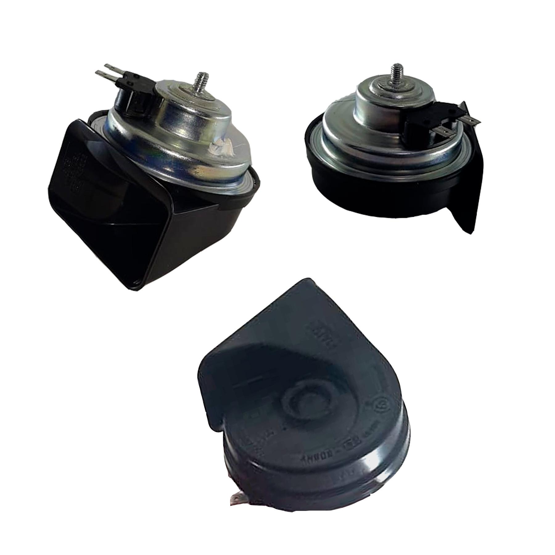 Buzina Eletrônica Caracol Universal Agudo 12 Volts 2 Terminais Para Carros Motos Caminhões - FIAMM - AM80H