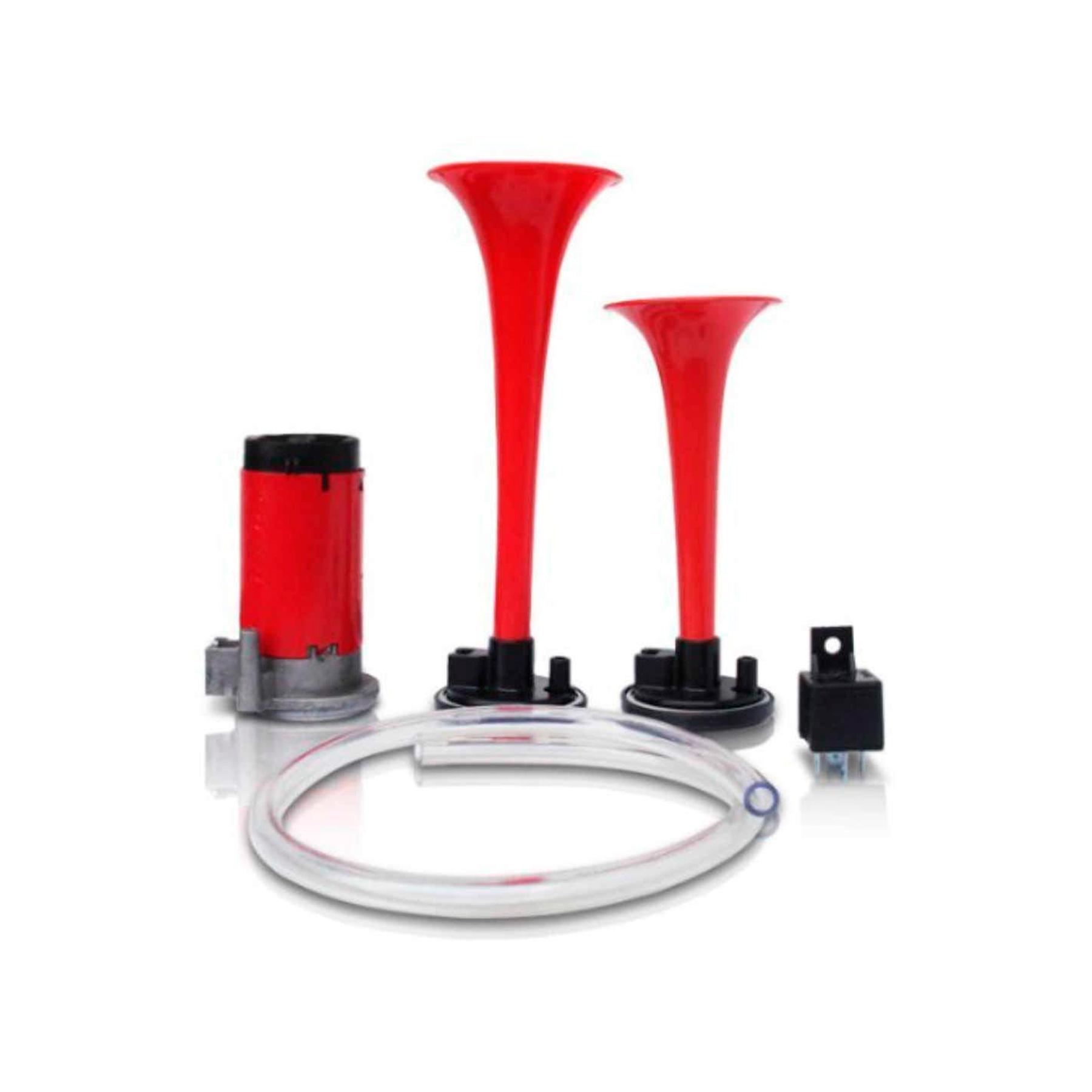 Buzina Eletropneumática Com 2 Cornetas - Vetor