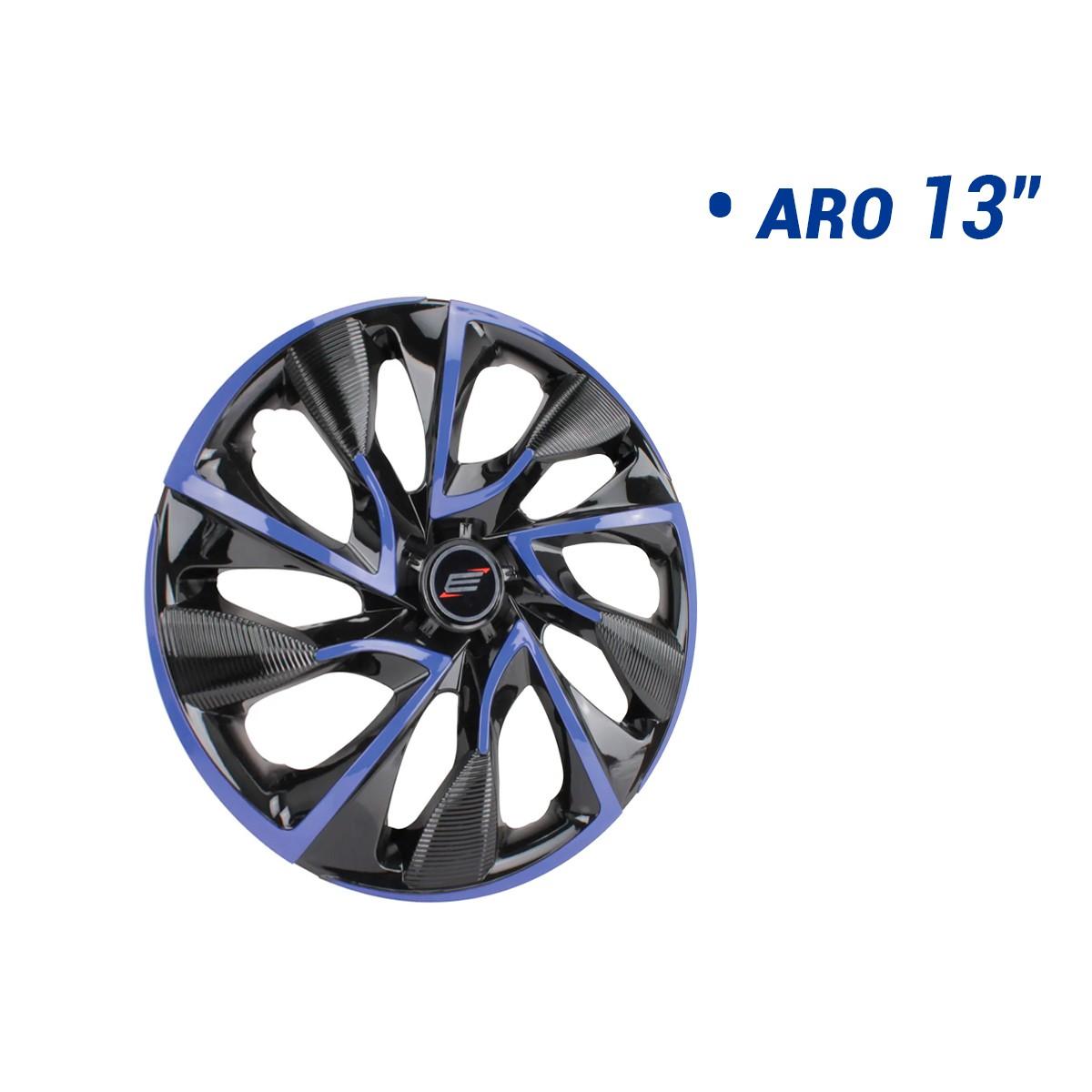 Calota Esportiva Aro 13 Ds4 Blue