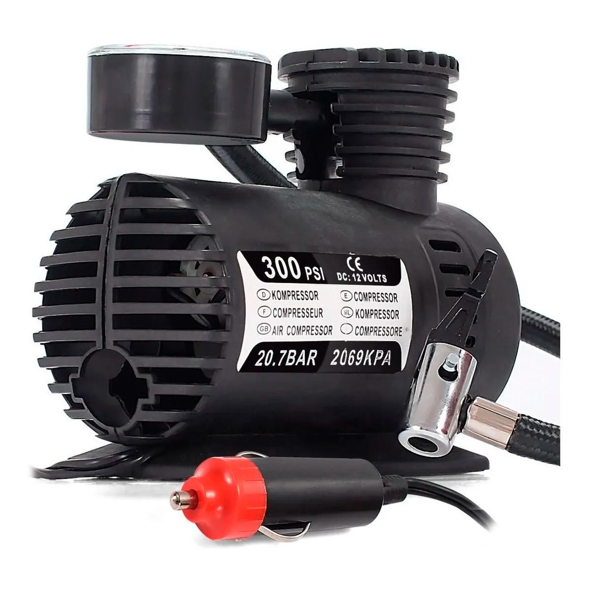 Compressor De Ar Portátil Tramontina 300psi 12v 50w