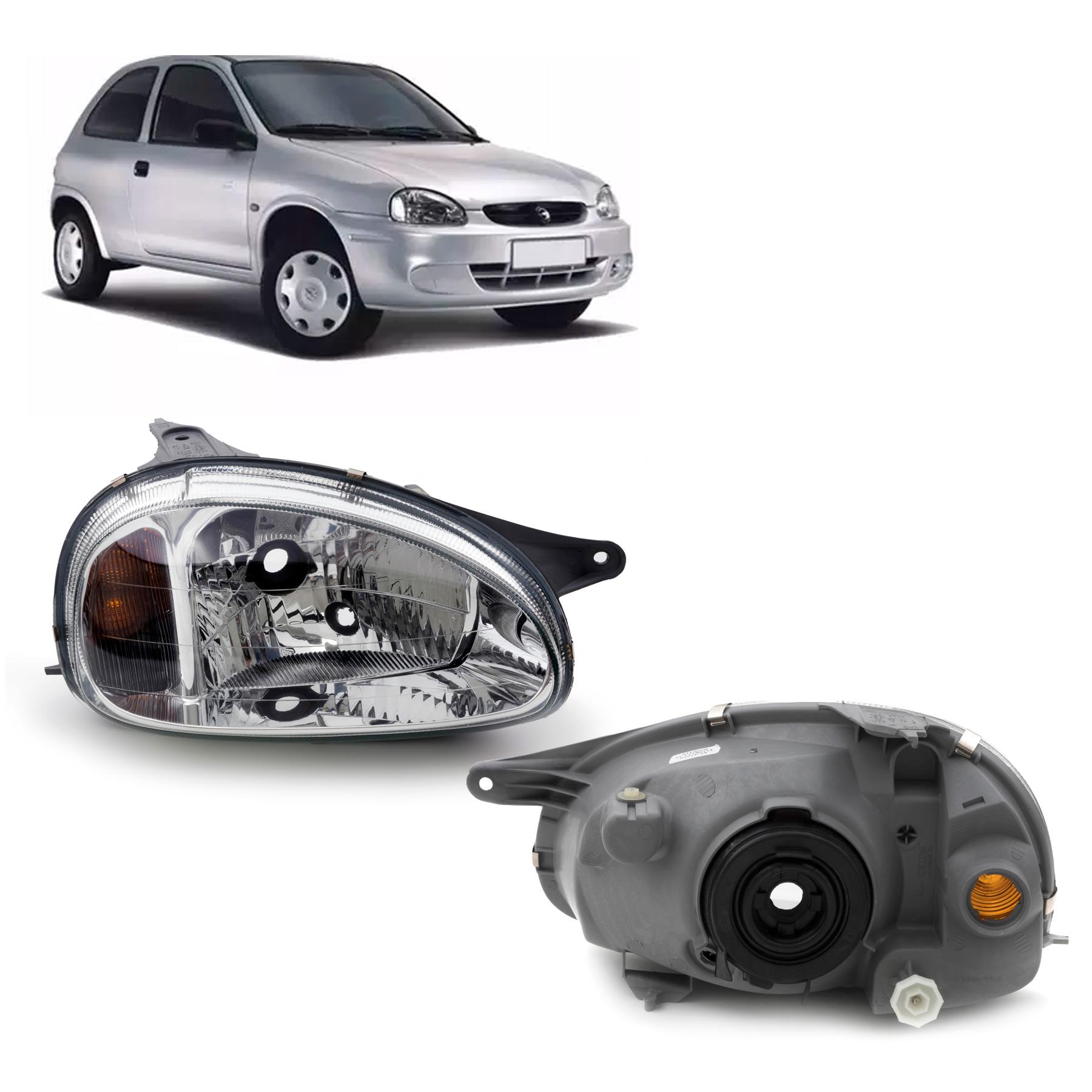 Farol Chevrolet Corsa 2000 a 2010 Arteb Lado Direito
