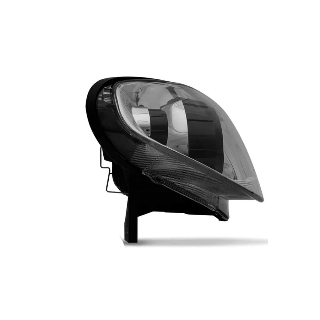 Farol Palio, Siena, Strada - Encaixe H7   Máscara Metalizada - Lado Direito