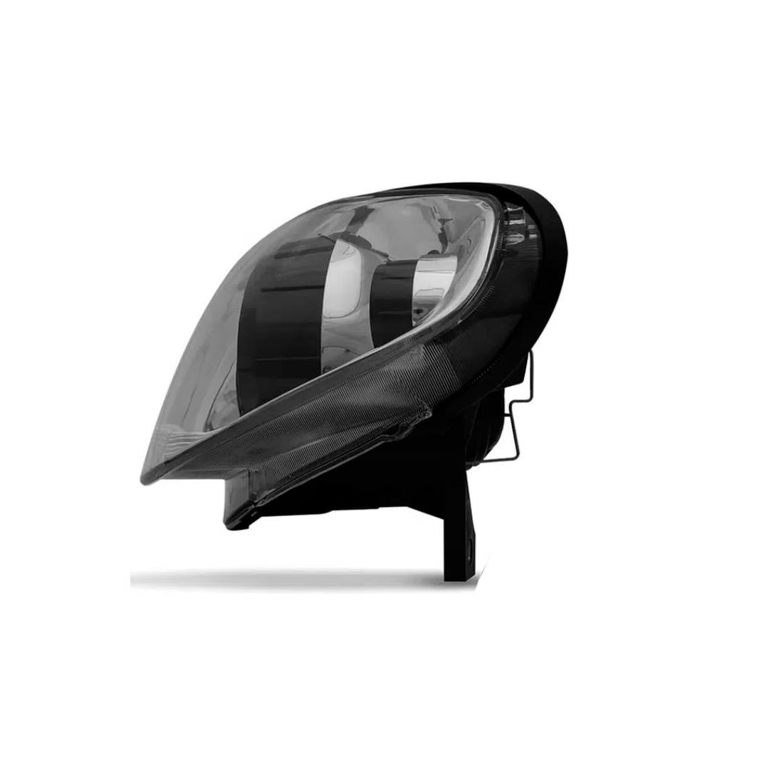 Farol Palio, Siena, Strada - Encaixe H7 | Máscara Metalizada - Lado Esquerdo