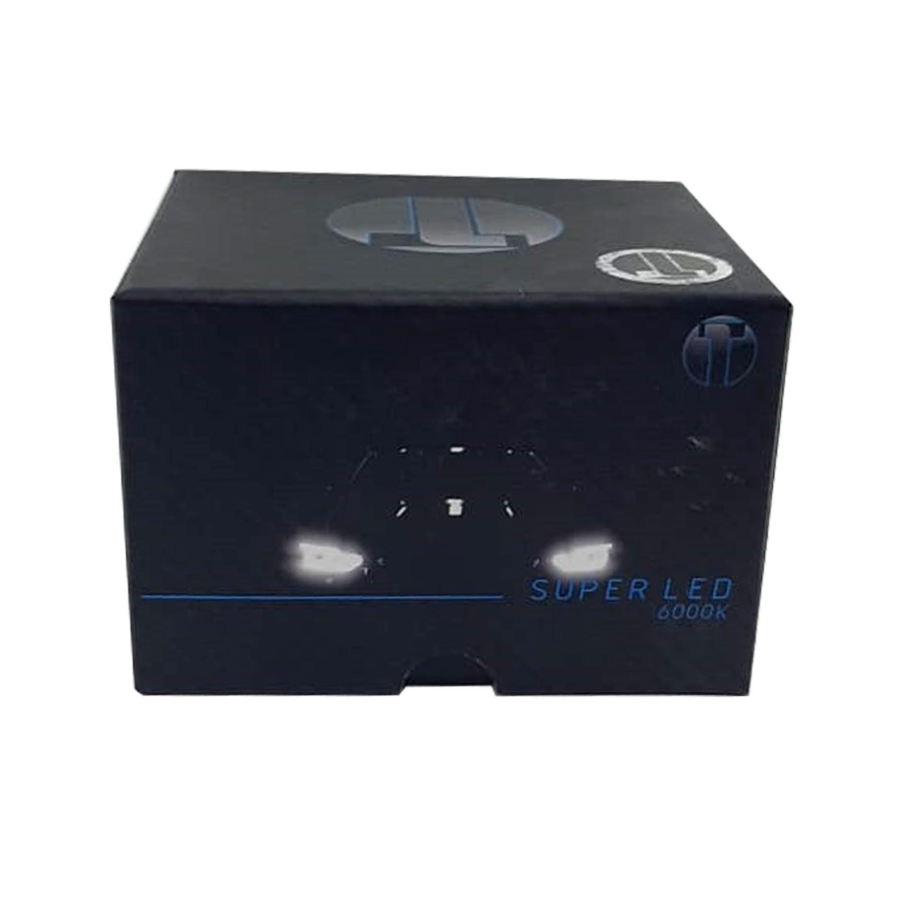 Kit Lâmpada Super Led H8 6000k