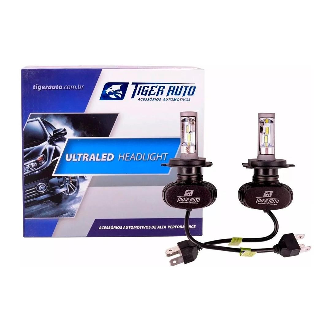 Kit Lâmpadas Ultra Led - 6000K | Tiger Auto Modelo H4