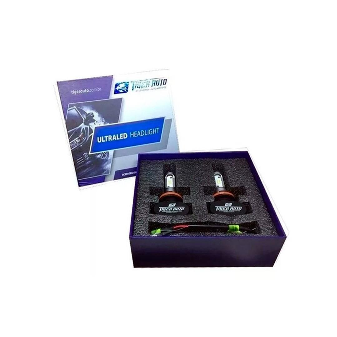Kit Lâmpadas Ultra Led - 6000K | Tiger Auto Modelo H7