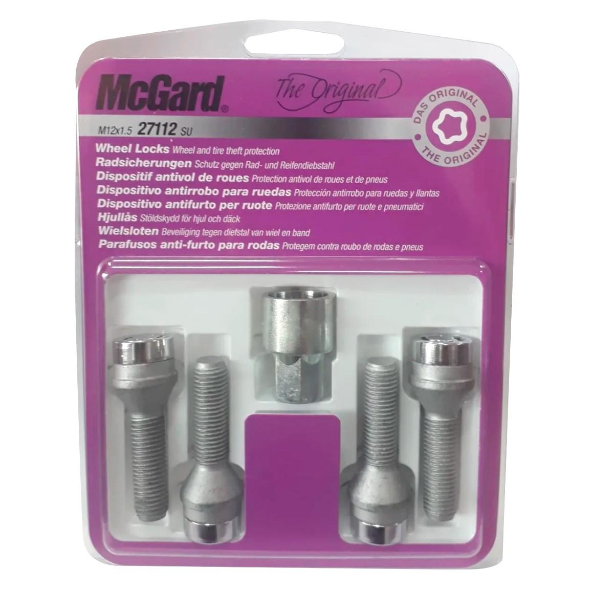 Kit Parafusos Anti-Furto - Mcgard Mod.:27112
