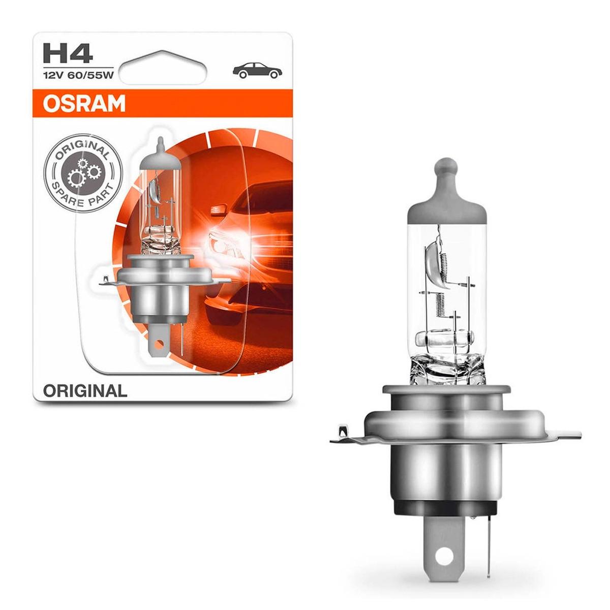 Lâmpada H4 Bilux Osram 12v 60/55w Made In Germany Original