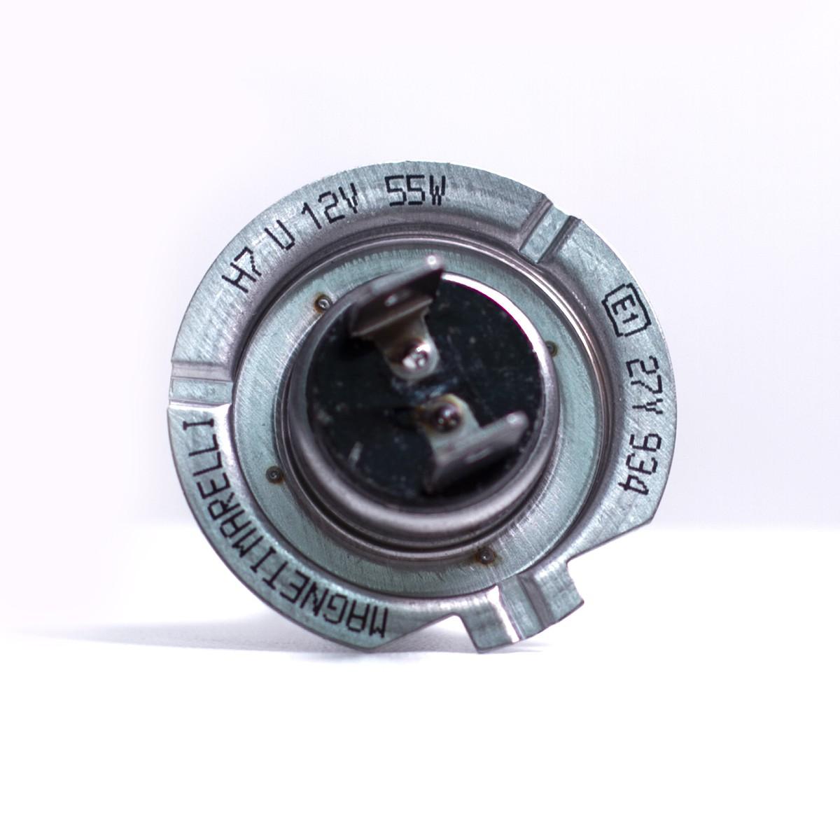 Lâmpada H7 Standart Farol Magneti Marelli 12v 55w Comum