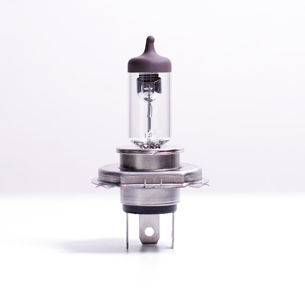 Lâmpada Halógena Transparente H4 60/55w | Luz Amarela
