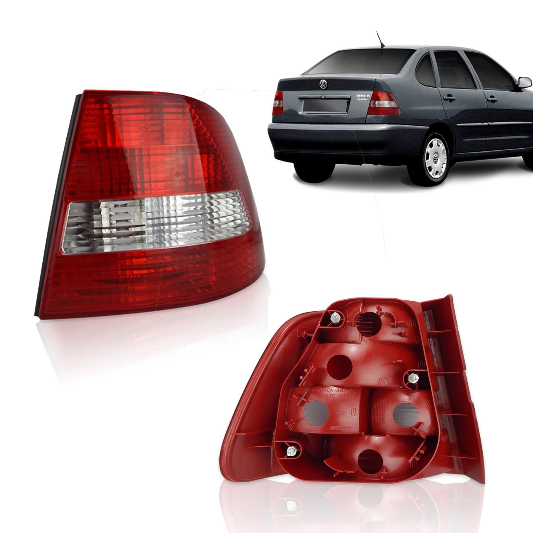 Lanterna Traseira Direita Polo Classic Sedan Arteb 2001 a 2002