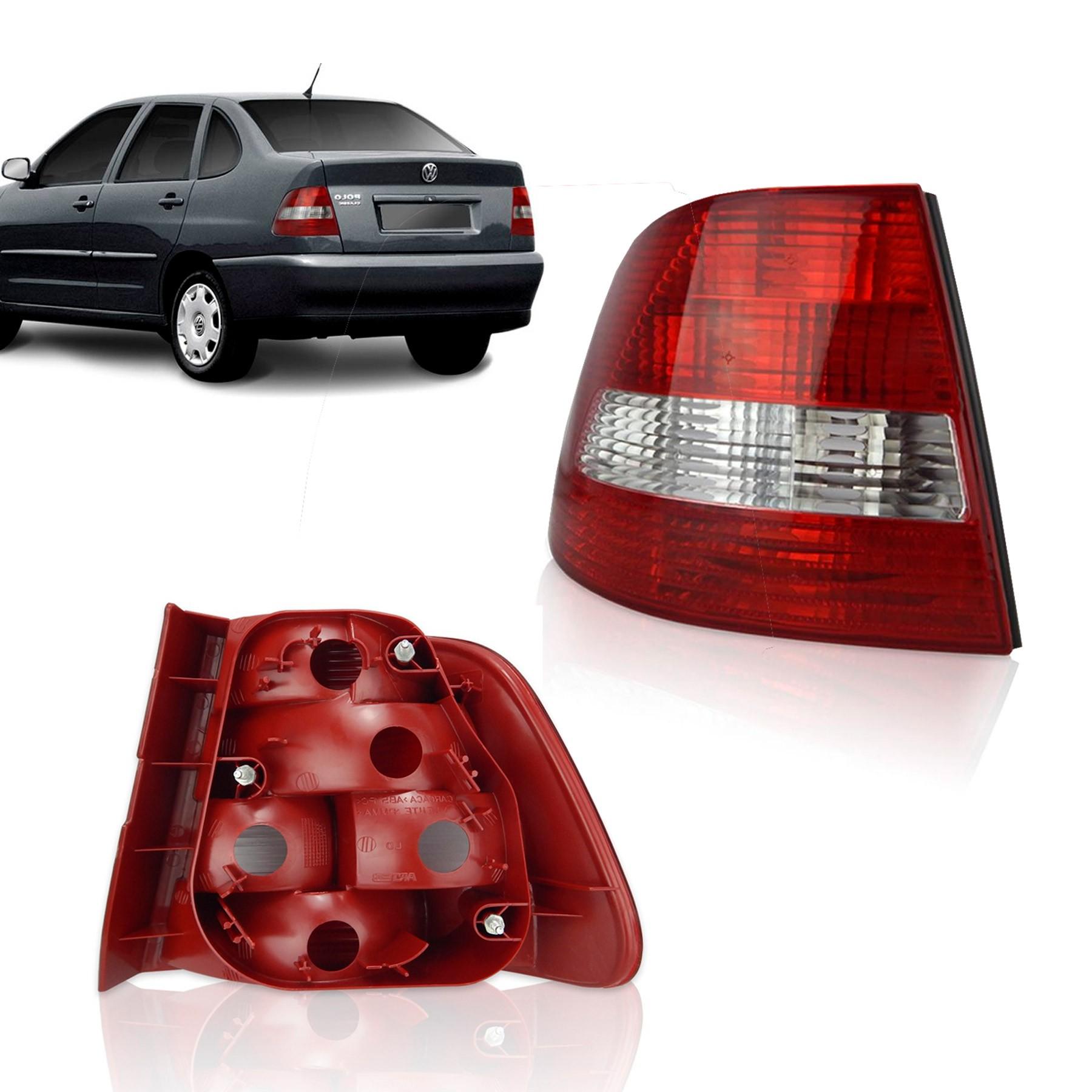 Lanterna Traseira Esquerda Polo Classic Sedan Arteb 2001 a 2002