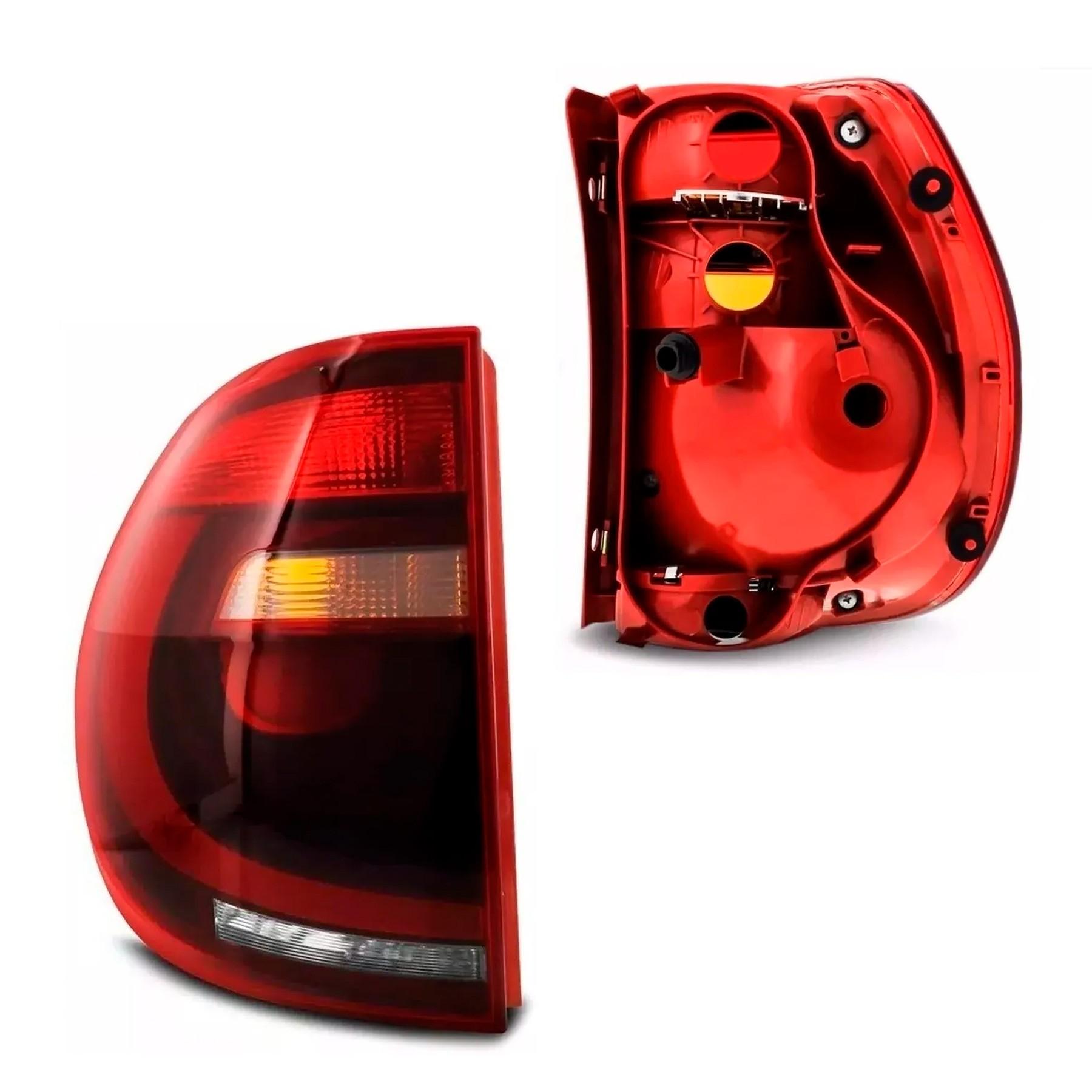 Lanterna Traseira Fox Crossfox 2010 a 2014 Fumê  Lado Esquerdo