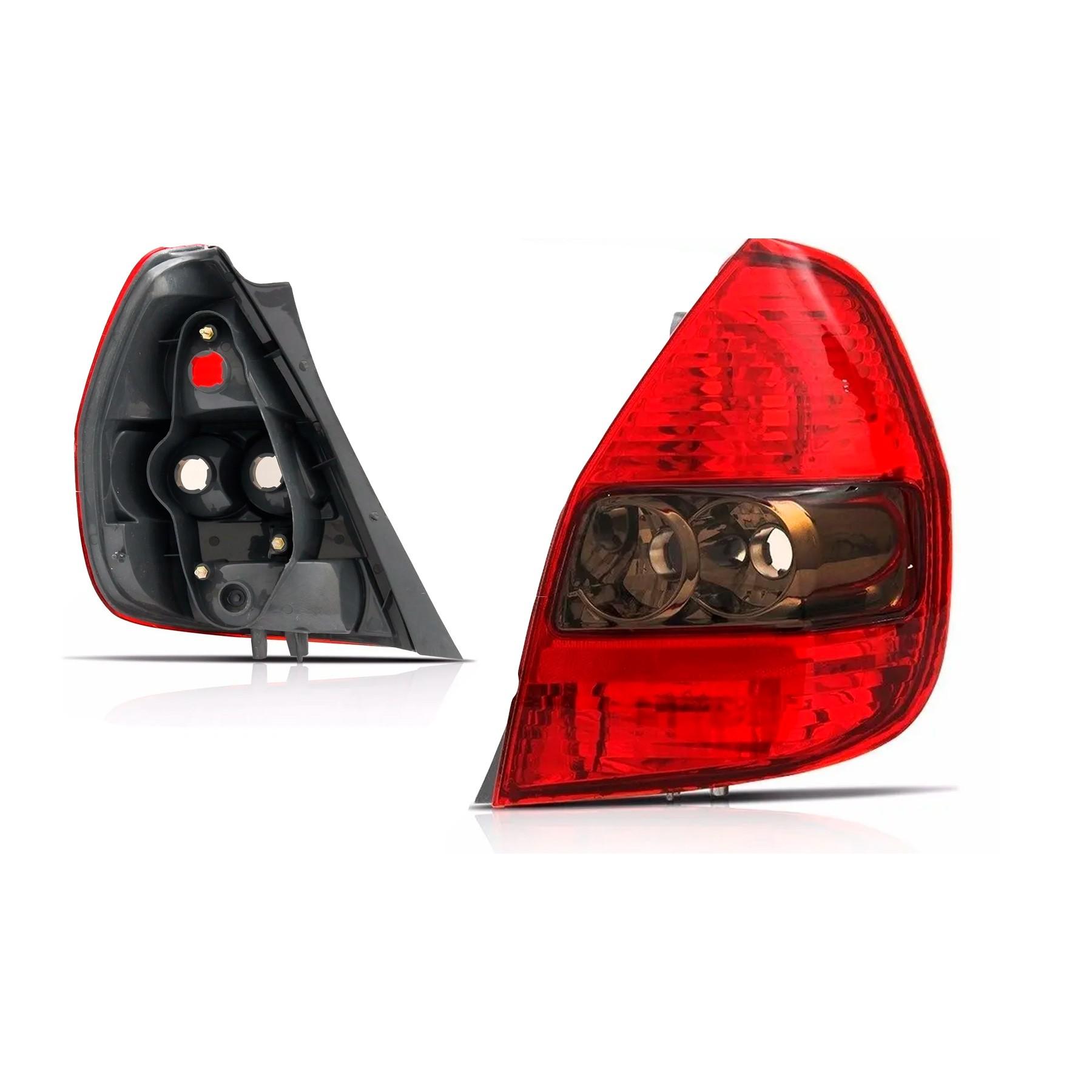 Lanterna Traseira Honda Fit Lado Direito 2003 a 2008 Fumê