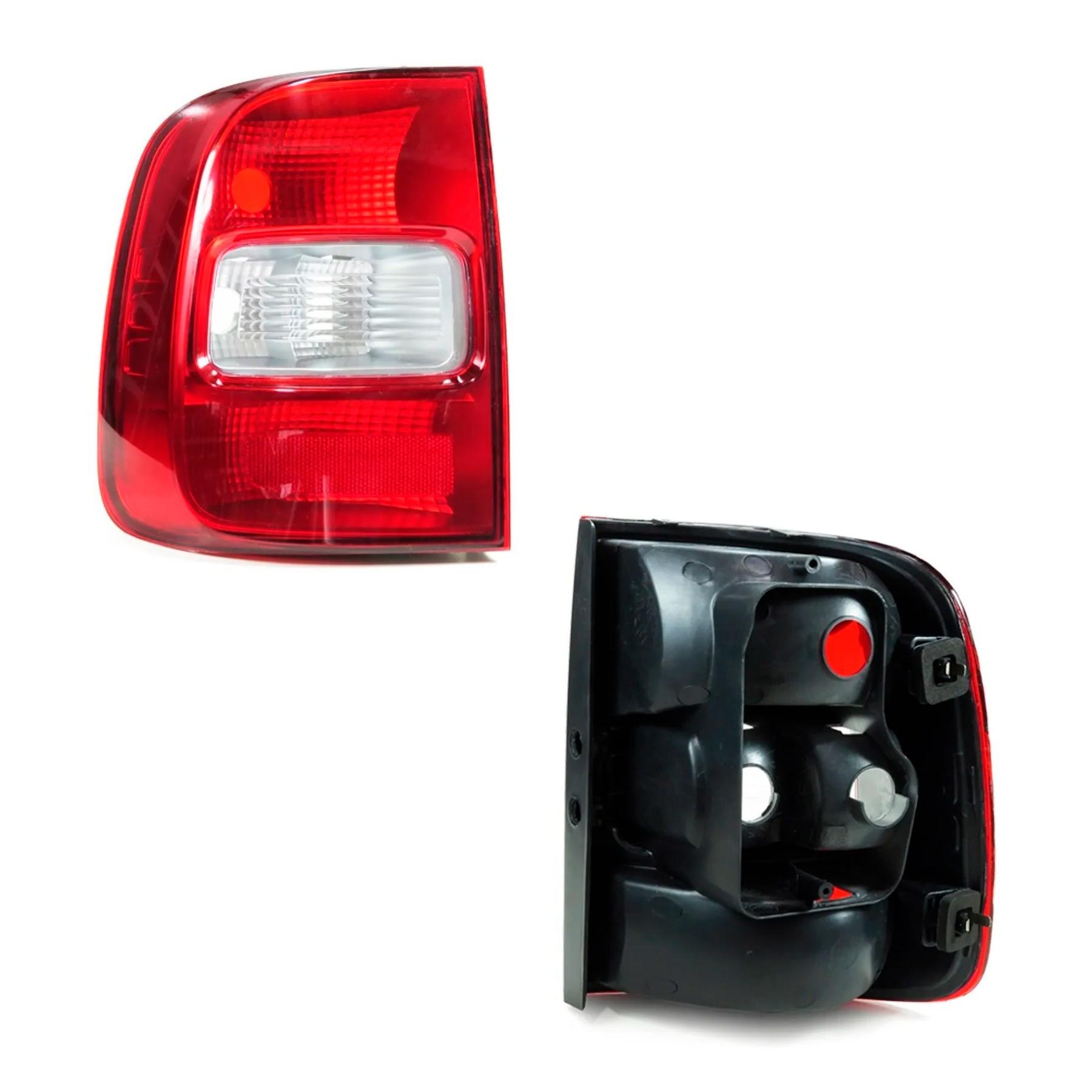 Lanterna Traseira Lado Esquerdo Saveiro G5 2009 a 2016 Bicolor