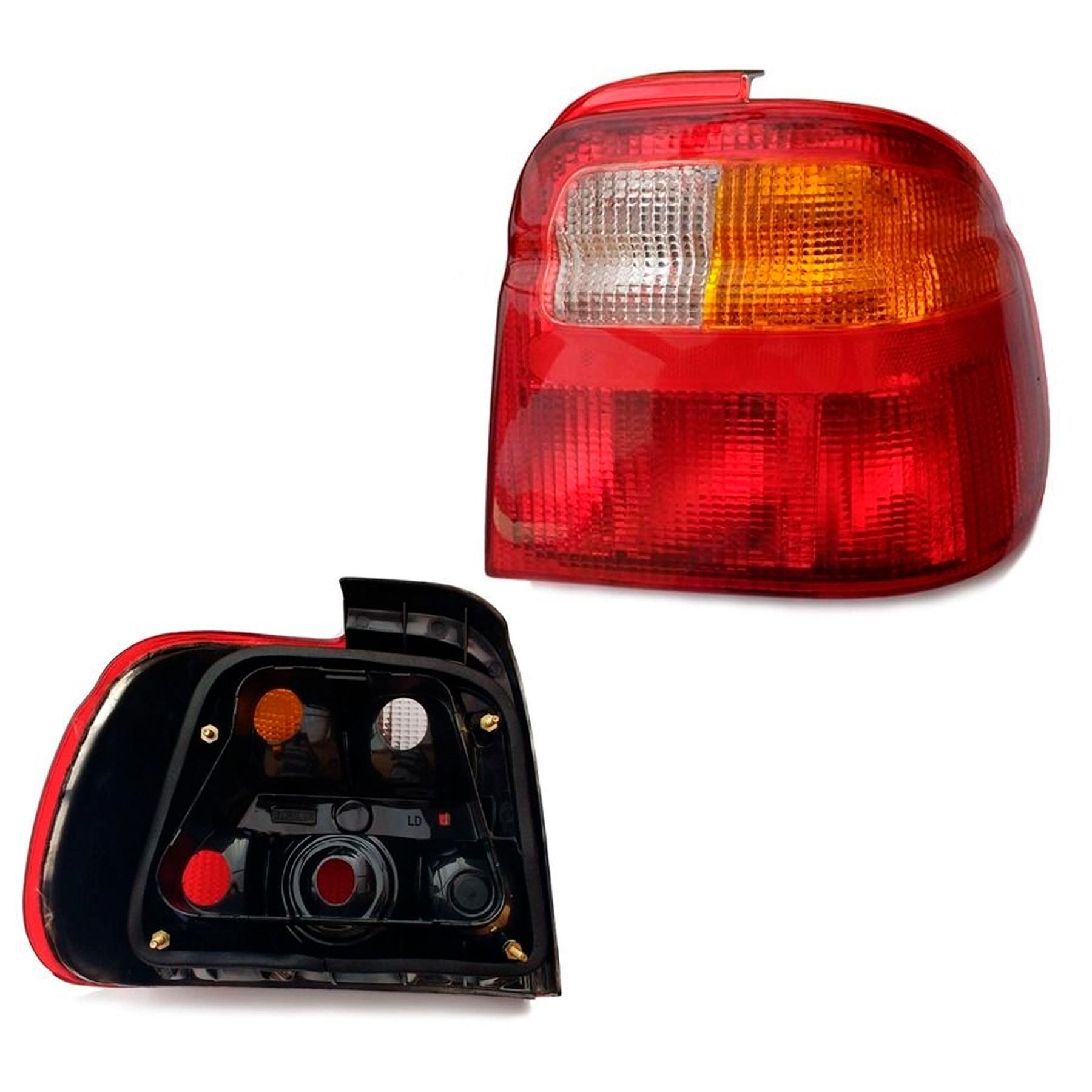 Lanterna Traseira Logus 1992 a 1998 Tricolor Lado Direito