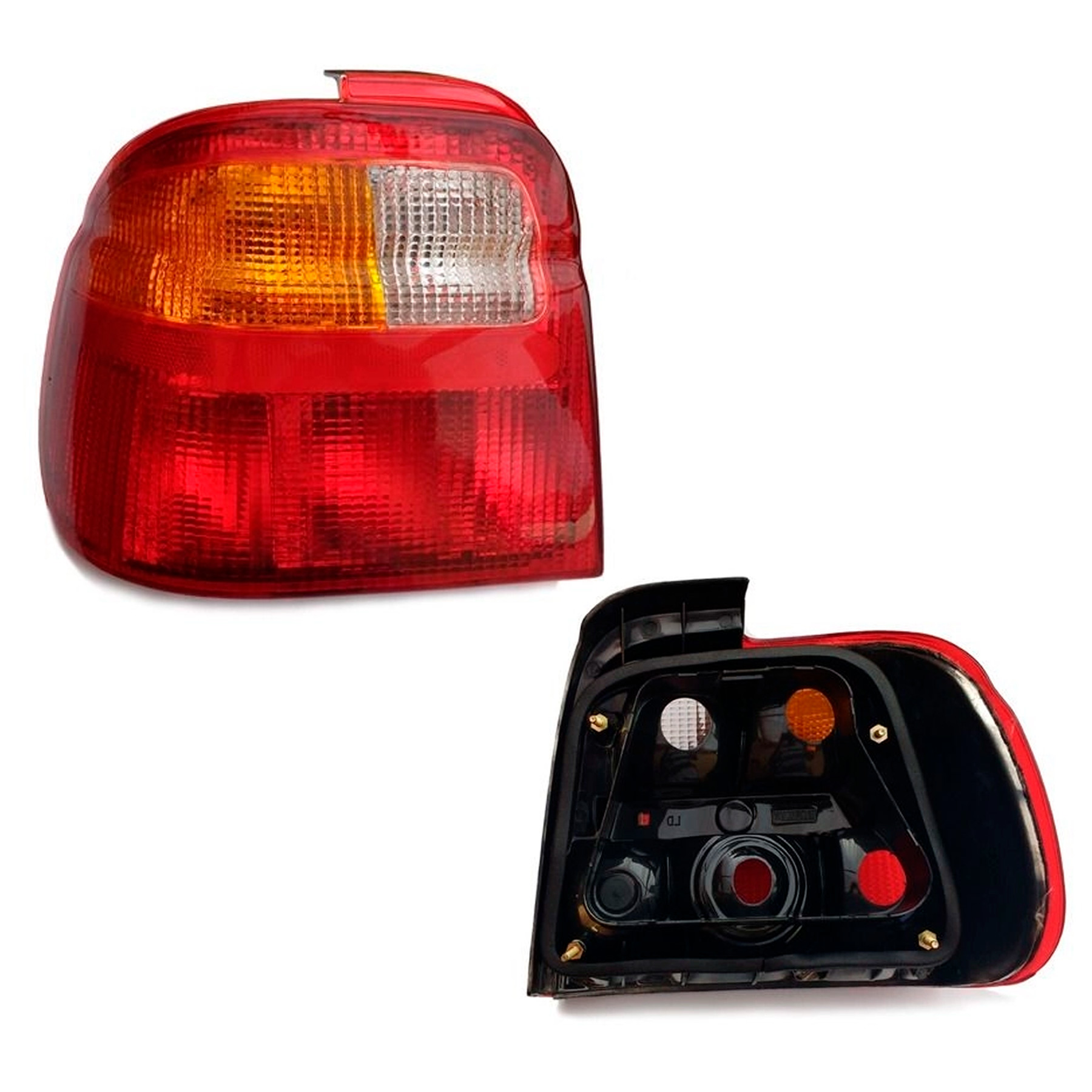 Lanterna Traseira Logus 1992 a 1998 Tricolor Lado Esquerdo