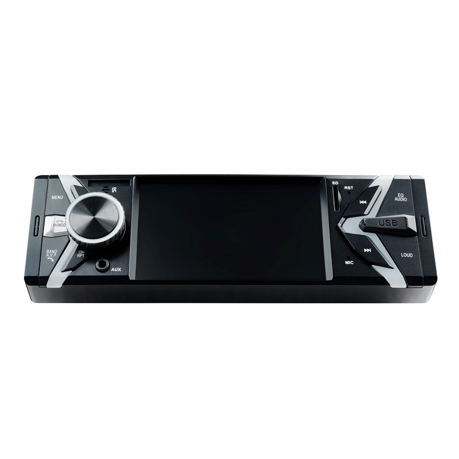MP5 Player Groove P3342 1 Din Tela LCD 4 Polegadas Bluetooth USB Micro SD Auxiliar P2 Rádio FM Aplicativo Smartphone Android