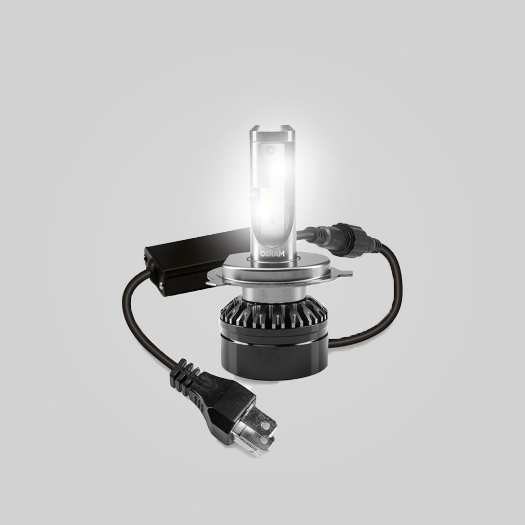 Kit de Lâmpadas LED 6000k Osram | Modelo H4