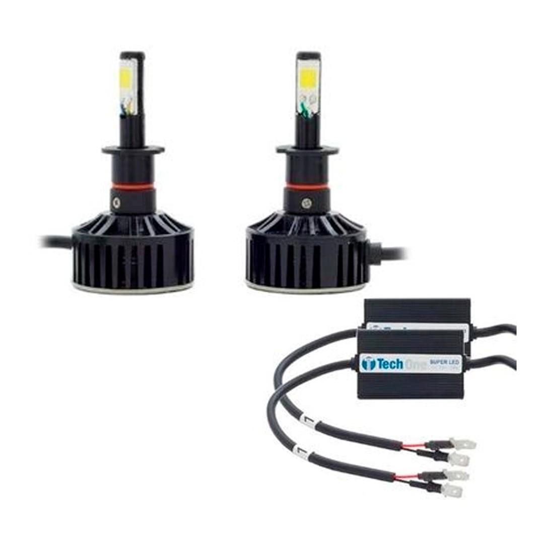 Kit de Lâmpadas LED 6000K - Tech One | Modelo H3