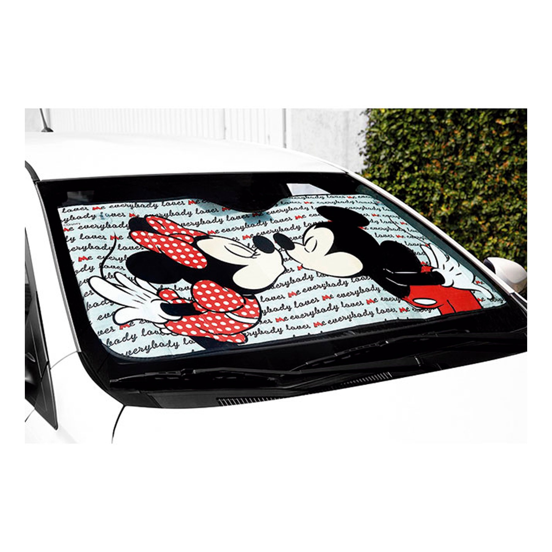Para-sol Frontal C/Ventosa Mickey e Minnie