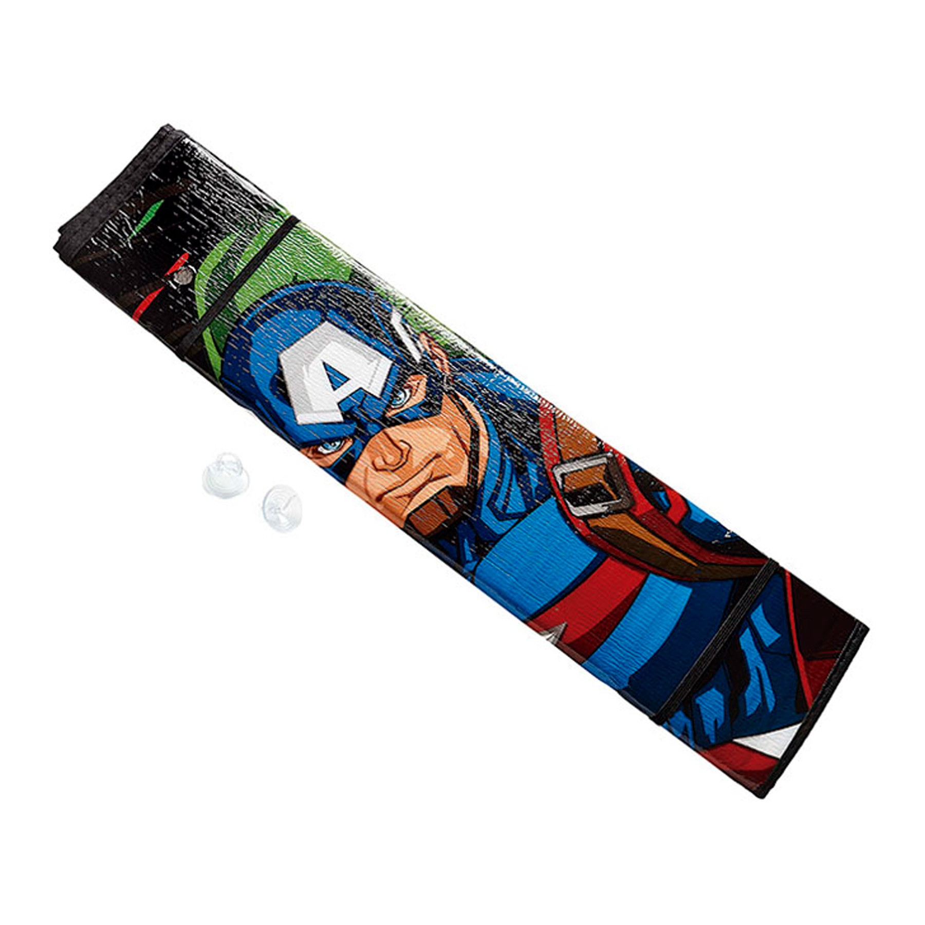 Parasol Frontal C/Ventosa Avengers