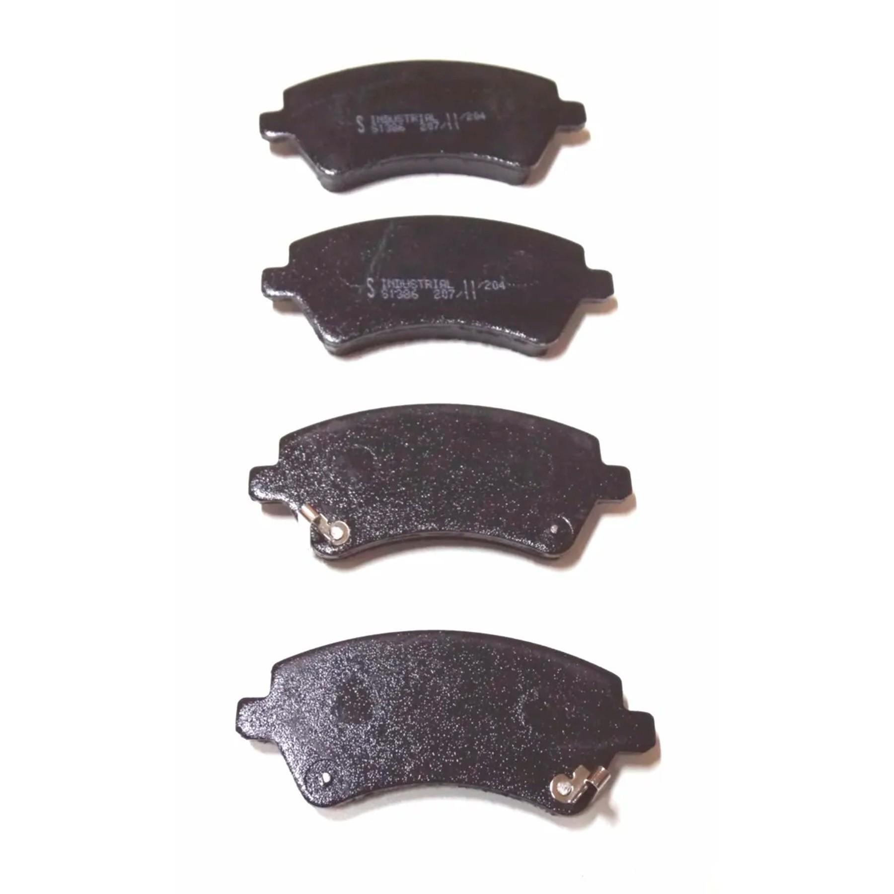 Pastilha de Freio Corolla– 1386-Syl (sem isolador) 2002 a 2006/2005 a 2008