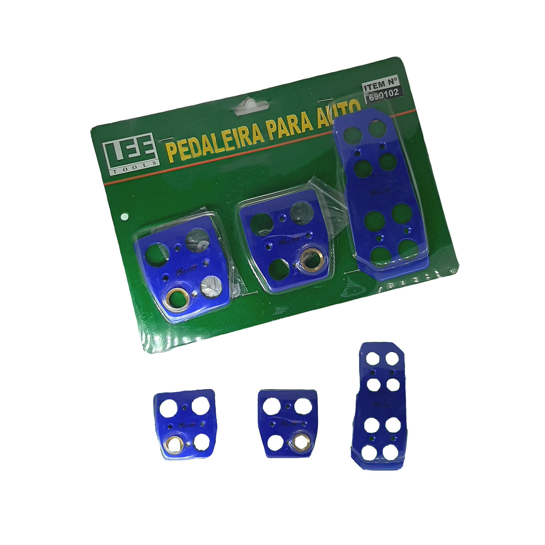 Pedaleira Esportiva Pro Racing Azul