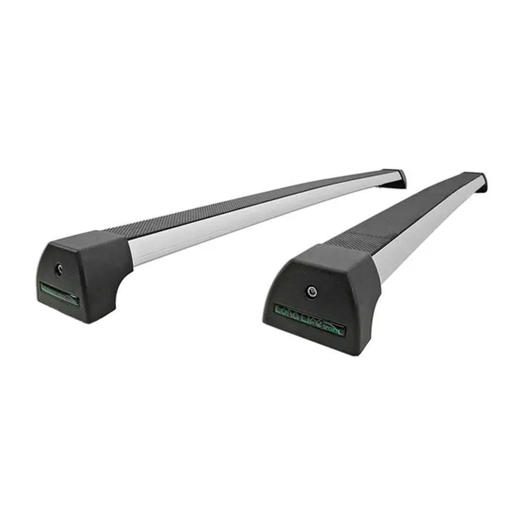 Rack Teto Fox 2 Portas Modelos Sport Alumino Anodizado Long Life AFX-2