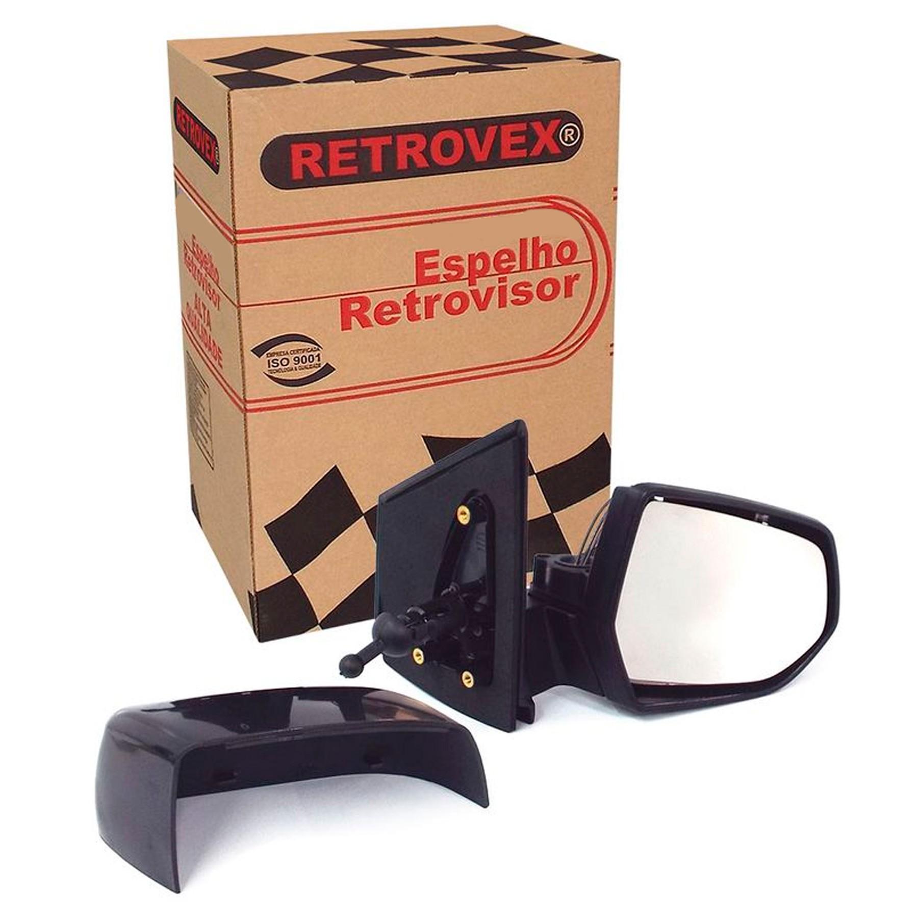 Retrovisor Chevrolet Spin 2012 em diante Controle Interno