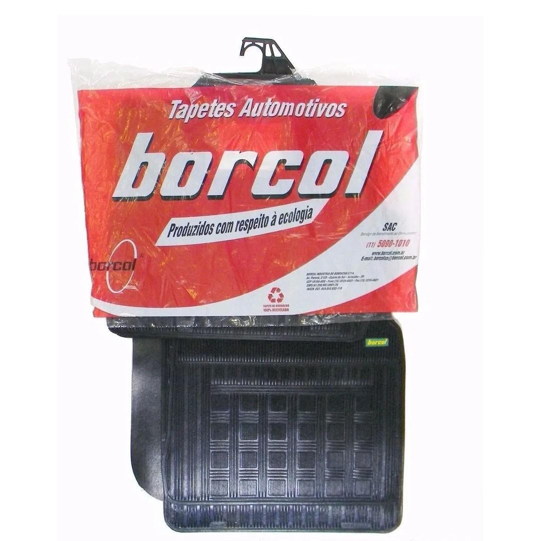 Tapete Original Fiat Argo 17 18 Borcol Interlagos Borracha