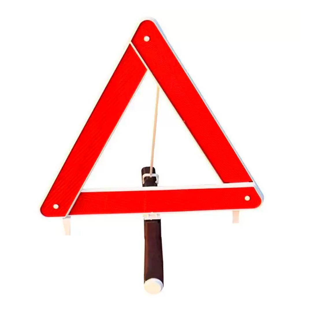 Triângulo de Segurança Com Base T101 - Estamparia Paulista